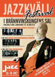 Sthlm jazzfest 2014 jazzgården